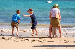 Spiel und Spaß an der Nordsee