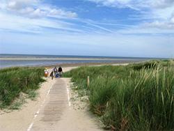 Strandaufgang Spiekeroog